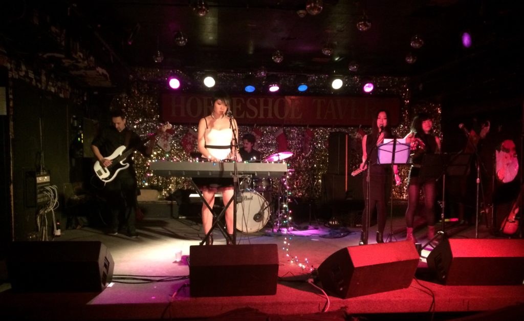 Horseshoe Tavern Dec 19th 2017 Chihiro & The Blue Notes Monday :ive Show Music Night Japanese Pop Rock