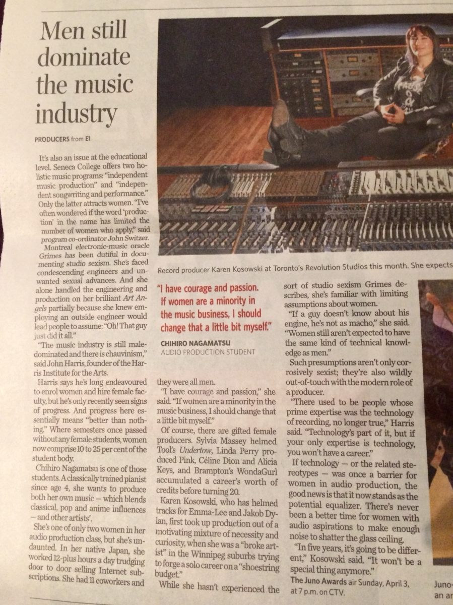 Toronto Star article